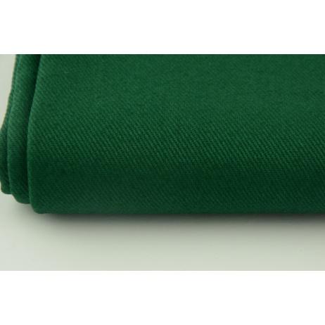 Drill, 100% cotton fabric in a plain fir green colour 290g/m2