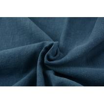100% linen, dark jeans (stonewashed)