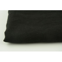 100% plain linen in black color, 155g/m2