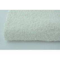 100% cotton fleece fabric off white
