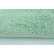 100% cotton fleece fabric mint