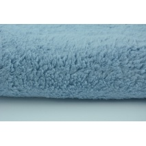 100% cotton fleece fabric blue