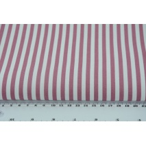 Cotton 100% 5mm dark heather stripes, poplin