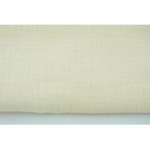 Double gauze 100% cotton plain vanilla