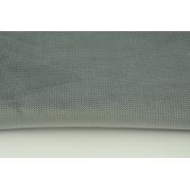 Velvet smooth dark gray