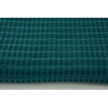 Cotton 100%, waffle fabric XL petrol