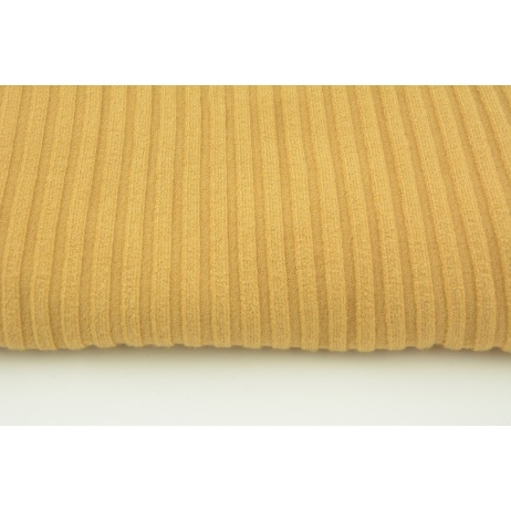 Knitted fabric ribb, orcha 80% VI, 18%NY, 2%SP