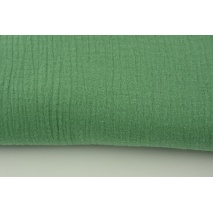 Double gauze 100% cotton plain jade