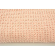 Knit pique, candy pink