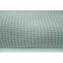 Knit pique gray