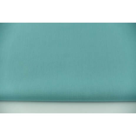 Cotton 100% plain azure, poplin