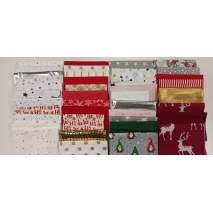 Fabric bundles No. 13 AB 20cm x 40pcs