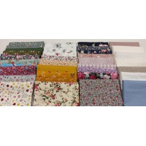 Fabric bundles No. 16 AB 20cm x 35pcs