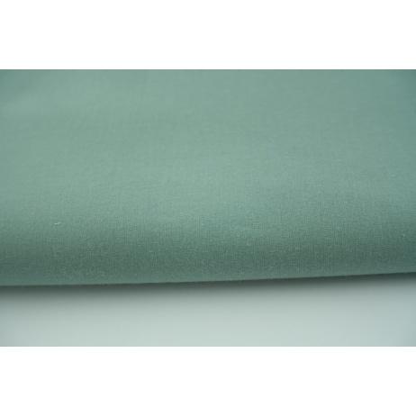 Bawełna 100%, jednobarwna, szałwia