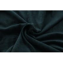 Knitwear velour, black