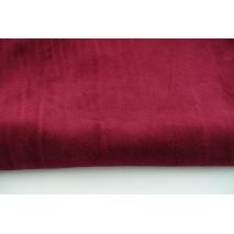 Knitwear velour, bordeaux