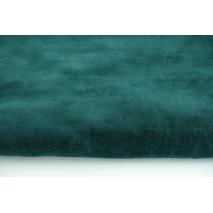 Knitwear velour, bottle green