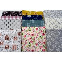 Fabric bundles No. 18 AB 40cm 11pcs.