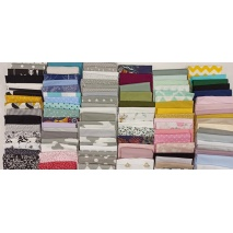 Fabric bundles No. 17 AB 40cm 105pcs.