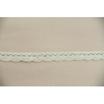 Cotton lace 15mm in a cream color (wave)