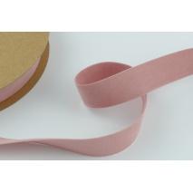 Velvet ribbon 25mm powder pink