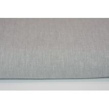 55% linen/ 45% cotton Twill gray