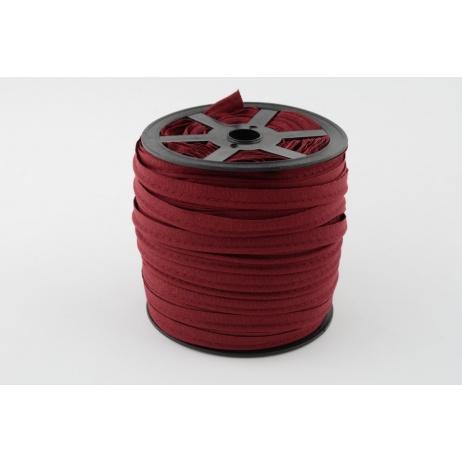 Cotton edging ribbon burgundy