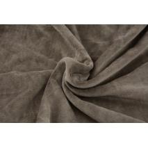Knitwear velour, mocha