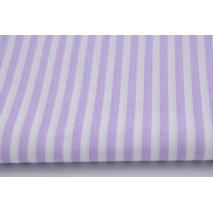 Bawełna 100% fioletowe paski 5mm