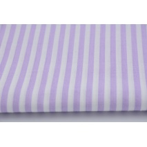 Cotton 100% violet stripes 5mm