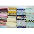 Fabric bundles No. 98AB 30cm 107pcs.