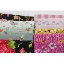 Fabric bundles No. 101 AB 20cm