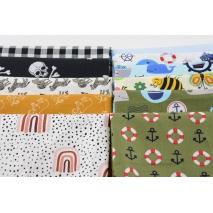 Fabric bundles No. 102 AB 20cm