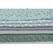 Fabric bundles No. 107 AB 70cm