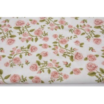 Cotton 100% climbing roses DP