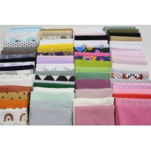 Fabric bundles No. 163LN 20cm x 75pcs