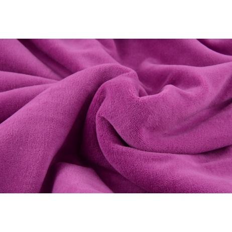 Knitwear velour, purple