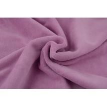 Knitwear velour, berry rose