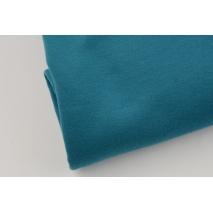 Looped knitwear plain petrol