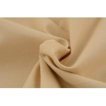 Bawełna 100% biszkoptowy beż, jednobarwna
