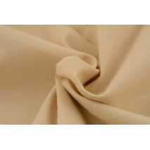 Cotton 100% plain biscuit beige