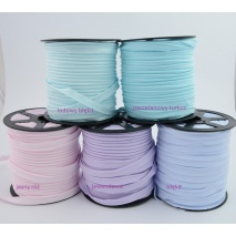 Cotton edging ribbon light pink