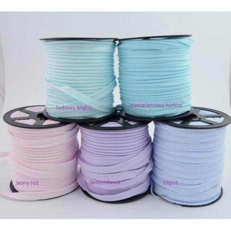 Cotton edging ribbon gray