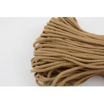 Sznurek bawełniany 6mm toffi (miękki)