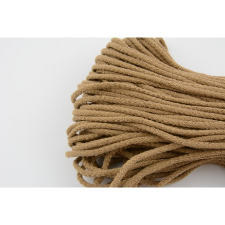 Cotton Cord 6mm toffee (soft)