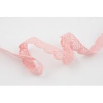 Cotton lace 15mm powder pink