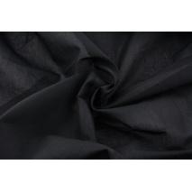 Cotton 100% plain black batiste cotton (70g/m2)
