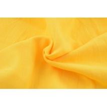 Muślin bawełniany, żółty