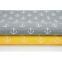 Cotton 100% anchors on a dark gray background