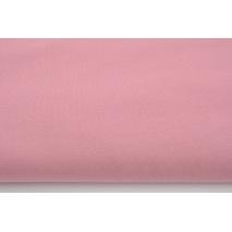 Dzianina, dresówka pętelkowa jednobarwna, szminkowy róż